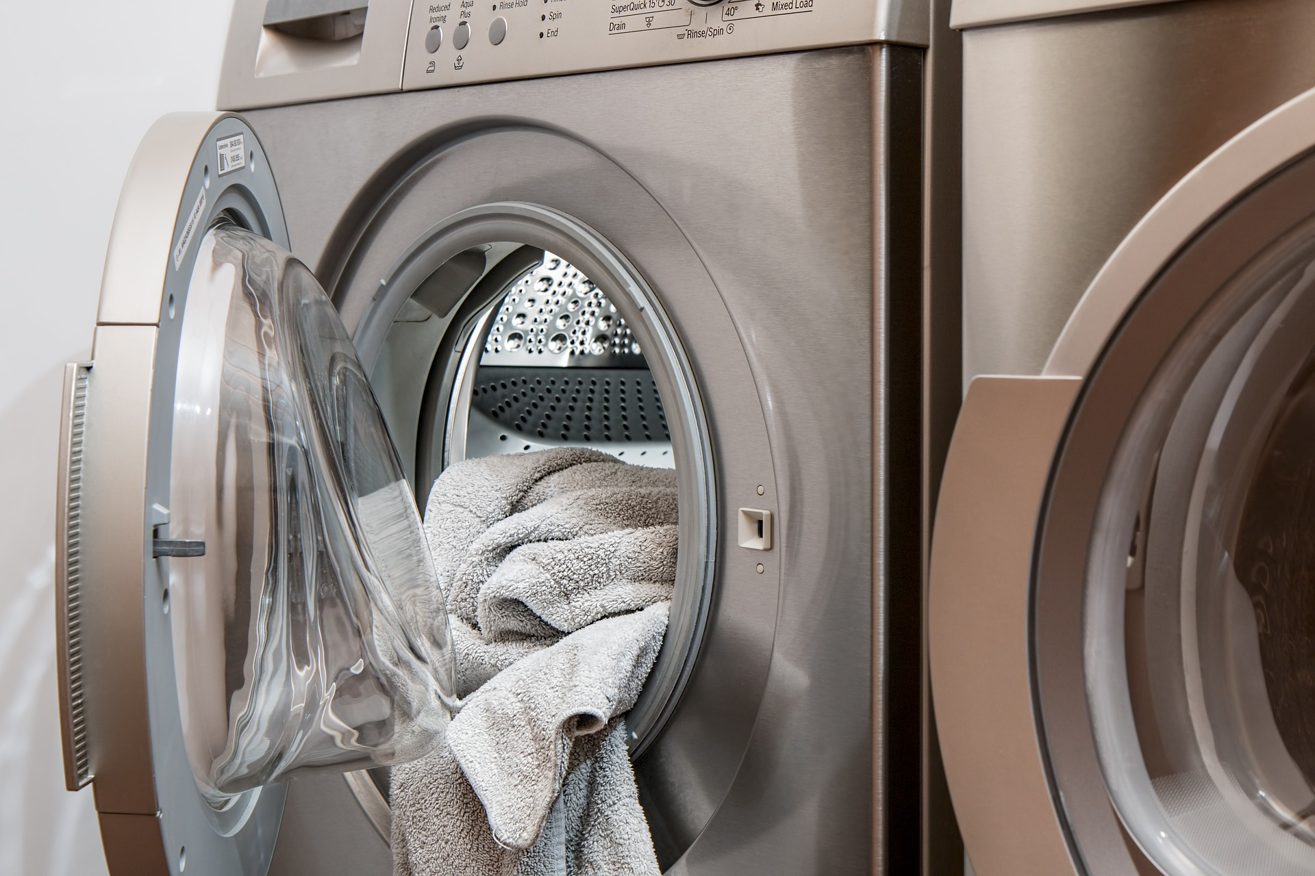 Smart förvaring i tvättstuga